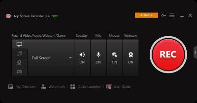 configurar grabador para capturar pantalla